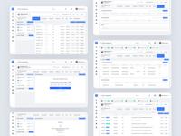 Bank Account Management System system design management management system banking dashboard ux application web bank webdesign uidesign ui vietnam