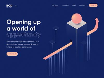BCD Website web uidesign typography illustration website design webdesign concept vietnam ui
