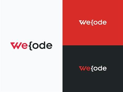 Wecode Logo Design branding logo design logo