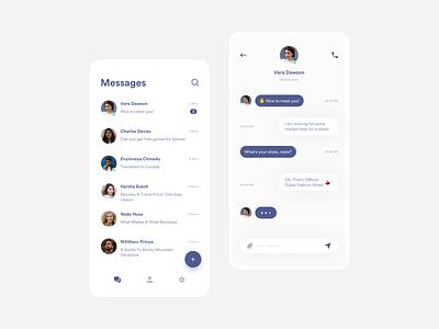 UI Message message app uidesign messages