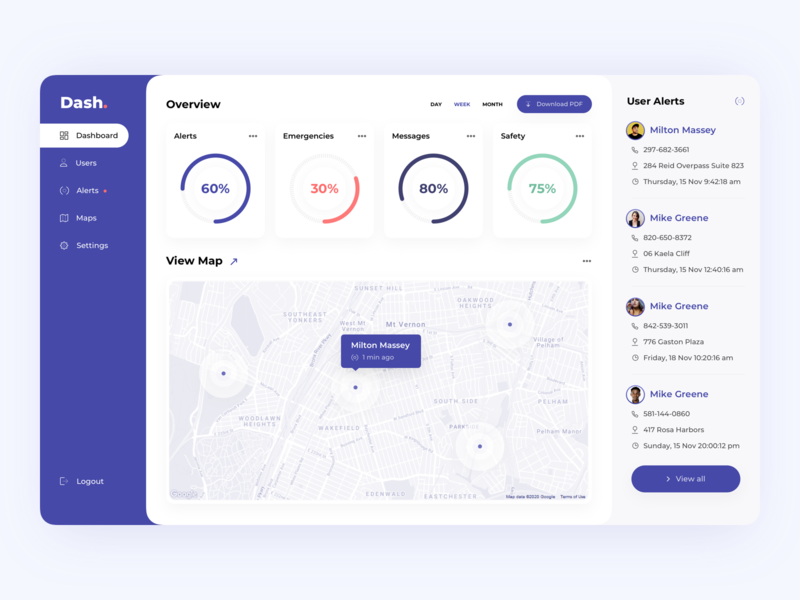 Dashboard Design Concept webapp web concept dash dashboard design ui dashboad