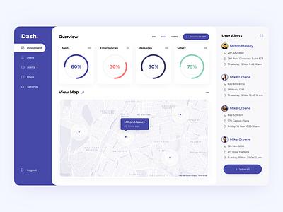 Dashboard Design Concept webapp web concept dash dashboard design ui dashboad