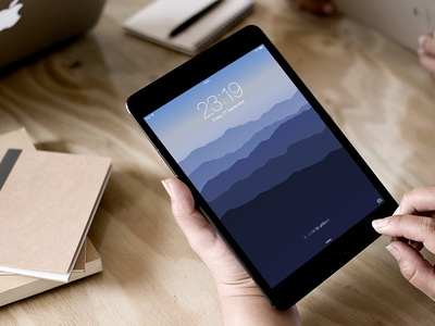 Free Flat Classic iOS Wallpapers