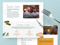 La Meunière - One page site restaurant