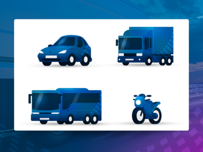 Vehicles - Illustrations