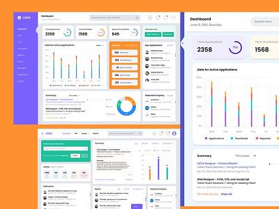 Recruiter Dashboard Design web app dashboard design