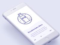Milk delivery service app