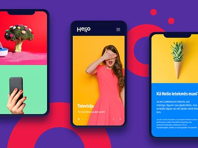 Helio bright colors principle photoshop sketch ux ui interaction system design web