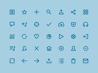 Mixcloud Icons