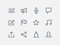 Bigger Icons