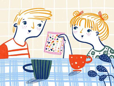 The gummy bear bag digital illustrator storytelling kids illustration kidlitart illustration