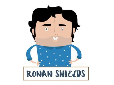 Ronan Shields Caricature
