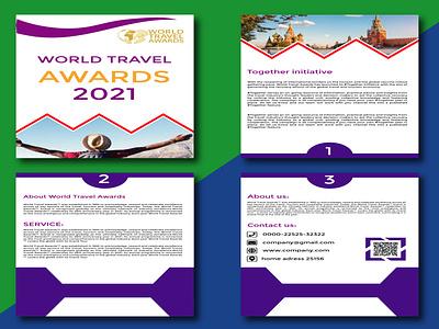 Company Profile design ui vector logo graphic design design company profile design bucher design illustration flyer design branding companu profile design