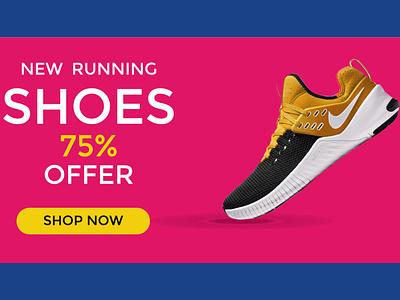 shoes ads banner design vector ui logo graphic design design company profile design socal ads ads design bucher design illustration flyer design branding