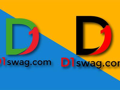 D1 logo design ui vector logo graphic design design company profile design bucher design illustration flyer design branding