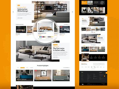 Who's Perfect - shop concept cs furniture ui design ux shop ecommerce