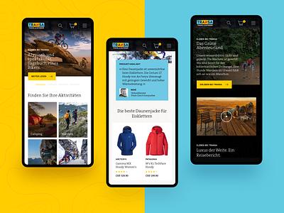 Transa.ch - mobile shop concept mobile ui cs shop design ux ecommerce