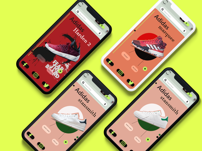#uidesing #adidas #mockups ux mobile adidas xd graphic design ui