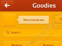 App Design Ui Goodies x1/x2