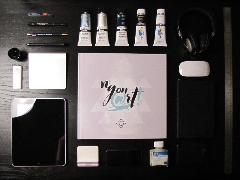 NGON ART books ngon 3d design cg print illustration portfolio ministry of sound