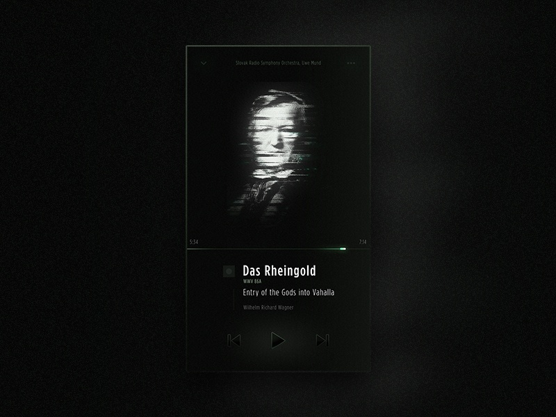 Das rheingold classical music player