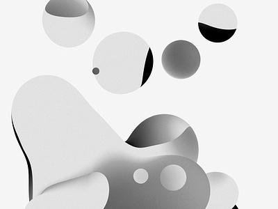 Gradient Noise 8c design illustration c4d