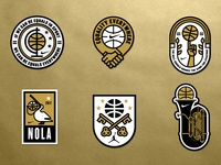 Nike Equality NOLA Patches
