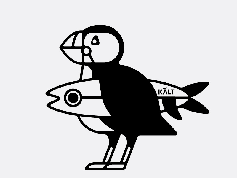 Puffin monoweight iceland fish penguin puffin surf