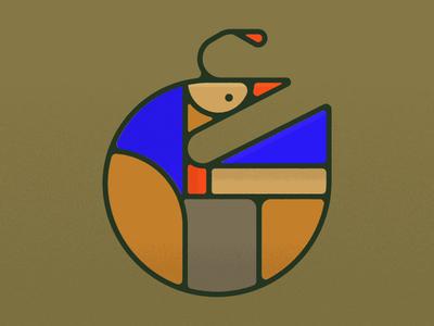 quail simplicity mid mod california mid century modern midcentury monoline monoweight geometric vector quail bird
