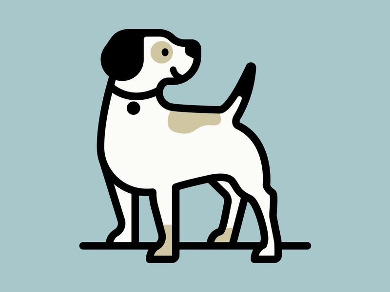 Dog Logo dogs vector branding packaging monoline logo dog