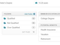 Employer Backoffice UI