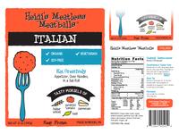 Heidis Meatless Label Redesign - Italian