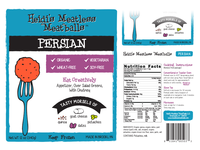 Heidis Meatless Label Redesign - Persian