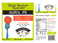 Heidis Meatless Label Redesign - Santa Fe