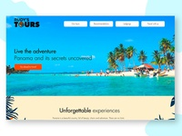 Rudys Tours website WIP