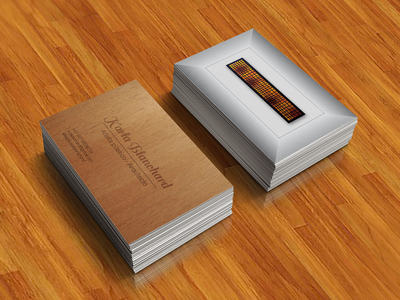 Kblanchard business card proposal artist business card colombia arquitecture busines card branding proposal art direction