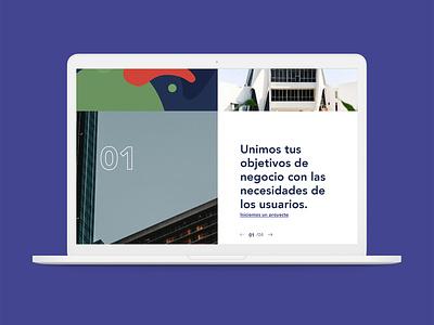WIP Agency agency landing page agency website startup redesign web design