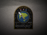 Patch for space flight
