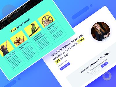 App Lifecycle Platform - Part 2 page marketing design uidesign ux uiux ui