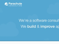 Parachute marketing site