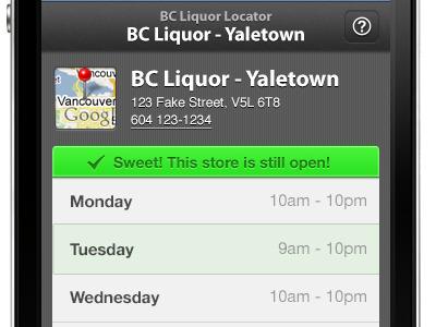 Bc liquor locator show