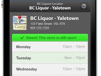BC Liquor Locator - Store View