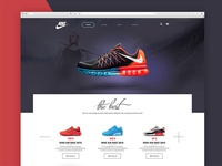 Homepage Design / Sport products / Shop