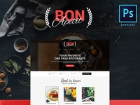 Bon Apetit (free PSD)