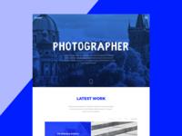 One page / Portfolio