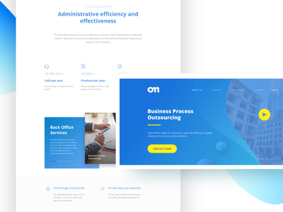 Corporate Design / User Interface travel landing page trip app concept creative design scroll
