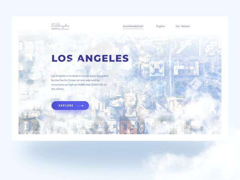 LA Homepage Design
