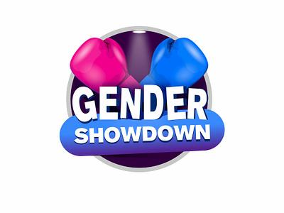 Gender Showdown Logo tvshow logo showdown gender