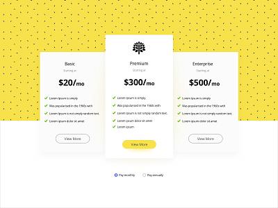 Pricing plan clean simple design webdesign application andreirotariu ux ui pricing price card app