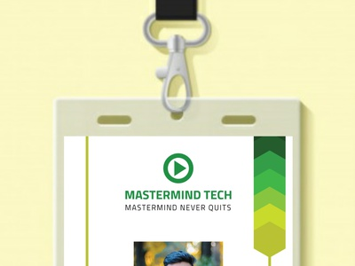 ID Card Design graphic design id card design illustration